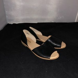 Coach black Firenze sandals